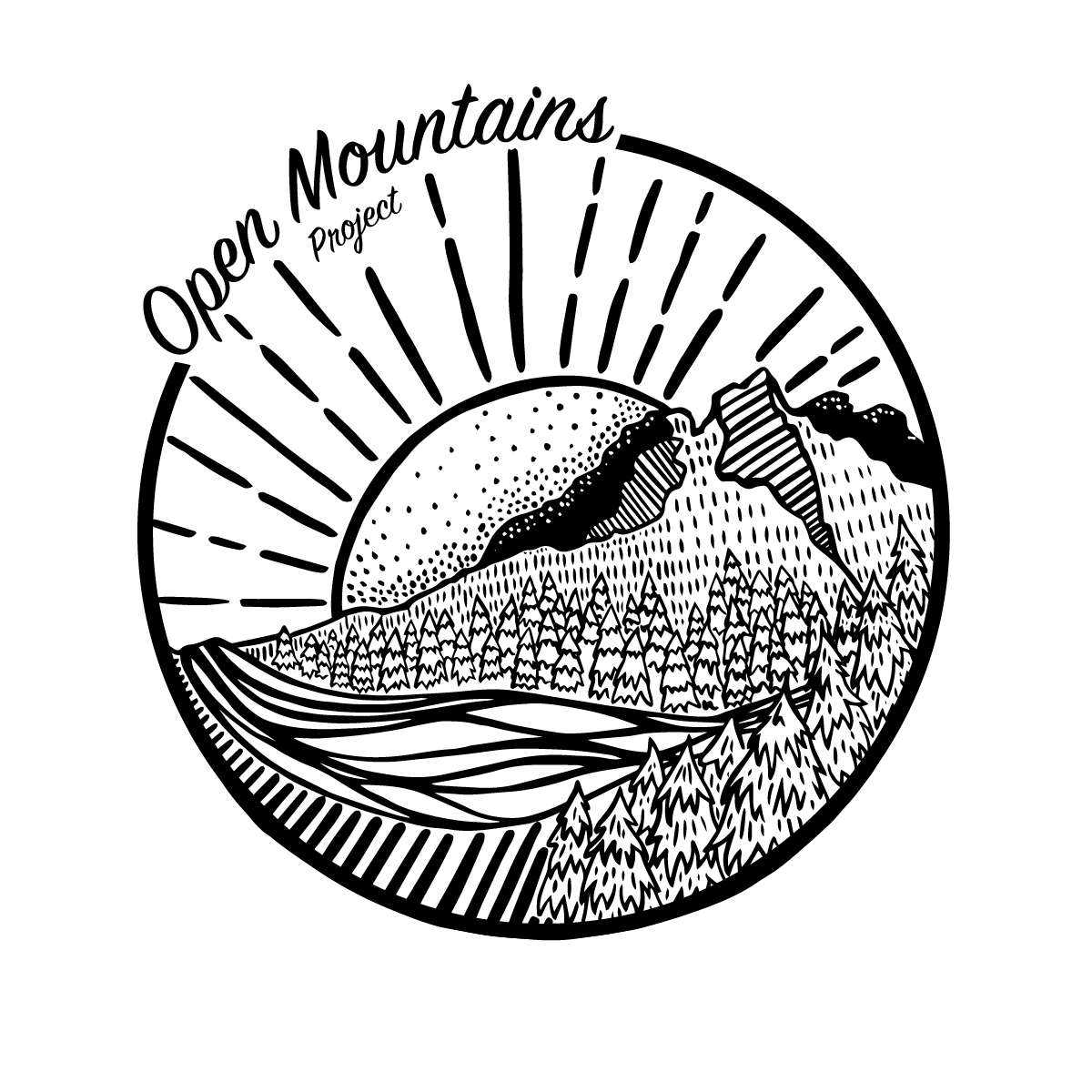 Open Mountains Logo